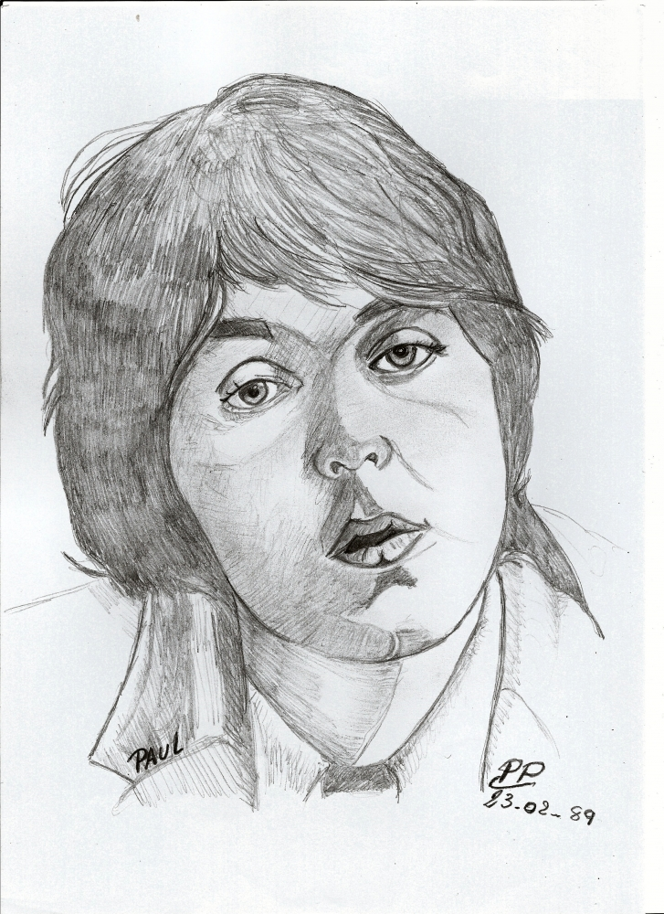 Paul McCartney par Patoux
